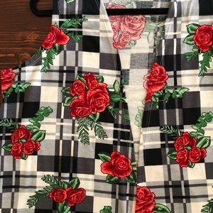 BNWT LuLaRoe Joy Longline Jersey Knit Vest